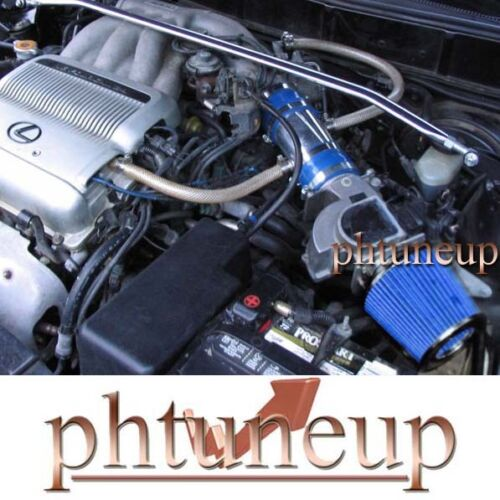 BLUE fit 1992-1993 LEXUS ES300 TOYOTA CAMRY DX//LE//XLE//DLX 3.0L V6 AIR INTAKE KIT