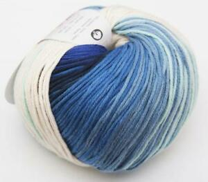 50g-DEGRADE-SUN-KATIA-100-Baumwolle-FARBVERLAUF-100-BATIK-Baby-Wolle-Cottonyarn