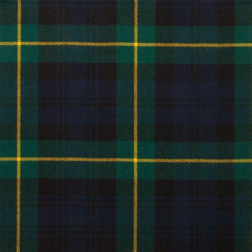 10oz Light Weight Fabric Material Gordon Clan Modern Tartan 1 Metre