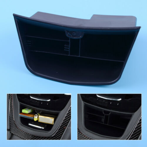 Schwarz Zentral Aufbewahrungsbehälter Multifunktions Box Für Cadillac XT5 17-18
