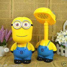 Foldable 3D Cartoon Minions 16 LED Study table Light / Table Lamp
