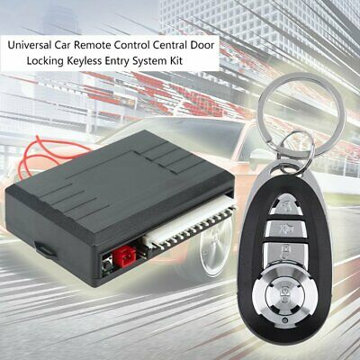 Universal Car Door Lock Keyless Entry System Remote Central Control Locking Kit
