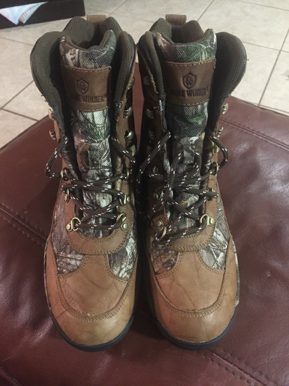 6e16ee4b9592f New Women's Game Winner REALTREE Xtra Terrain Hunting Boot Size 10 Hiker  All oujsws6011-new shoes