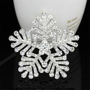 Crystal-Rhinestone-Snowflake-Shape-Suits-Brooch-Pins-Women-Girls-Jewelry-Gift