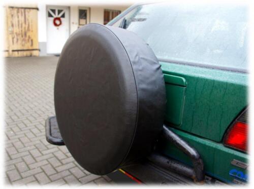 Roue de secours capot roue de secours Housse pneus Cover remorque voiture 61x22 CM