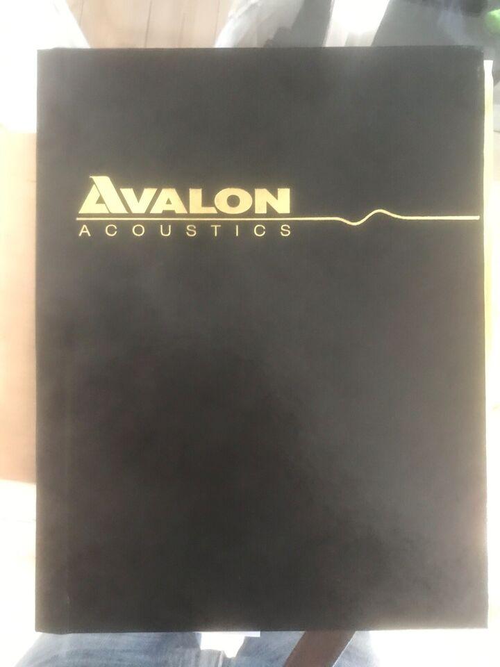 Højttaler, Avalon, Idea