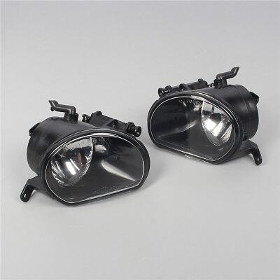 New Pair Front Right  /& Left Bumper Halogen Fog Light Fog Lamp For AUDI Q7 10-15