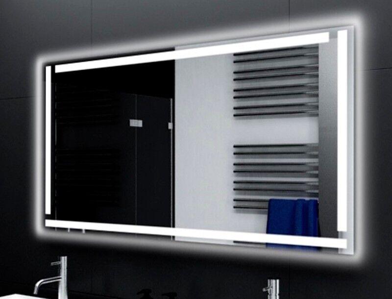 Badspiegel mit LED Beleuchtung Badezimmerspiegel Bad Spiegel Wandspiegel M117
