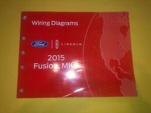 2015 ford fusion wiring diagram used 2015 ford fusion lincoln mkz wiring diagrams ebay  used 2015 ford fusion lincoln mkz