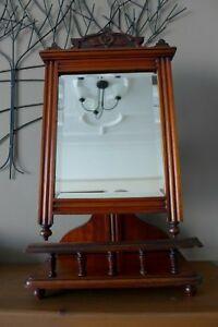 Ornate Dressing Table With Mirror Vintage Wall Sticker Decal Transfer Matt Vinyl