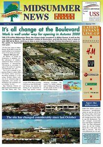 Midsummer Place News - Milton Keynes 1999