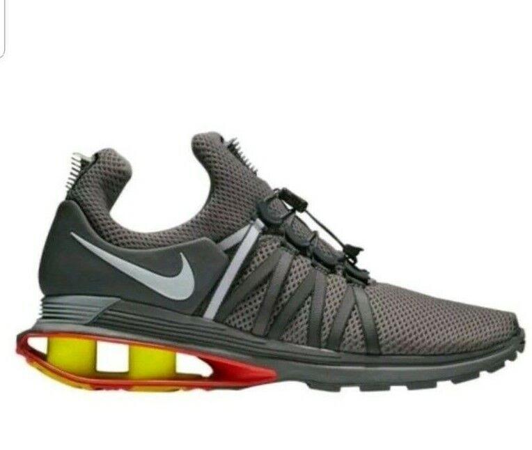 NIKE Shox Gravity Size 9.5 Training Running shoes Mens Gunsmoke Grey AQ8553 006