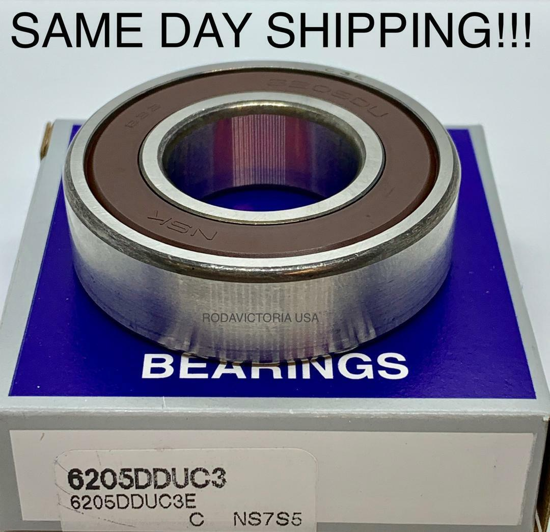 NSK 6301 DDU Deep Groove Radial Ball Bearing 12x37x12mm Same Day USA Shipping!!!