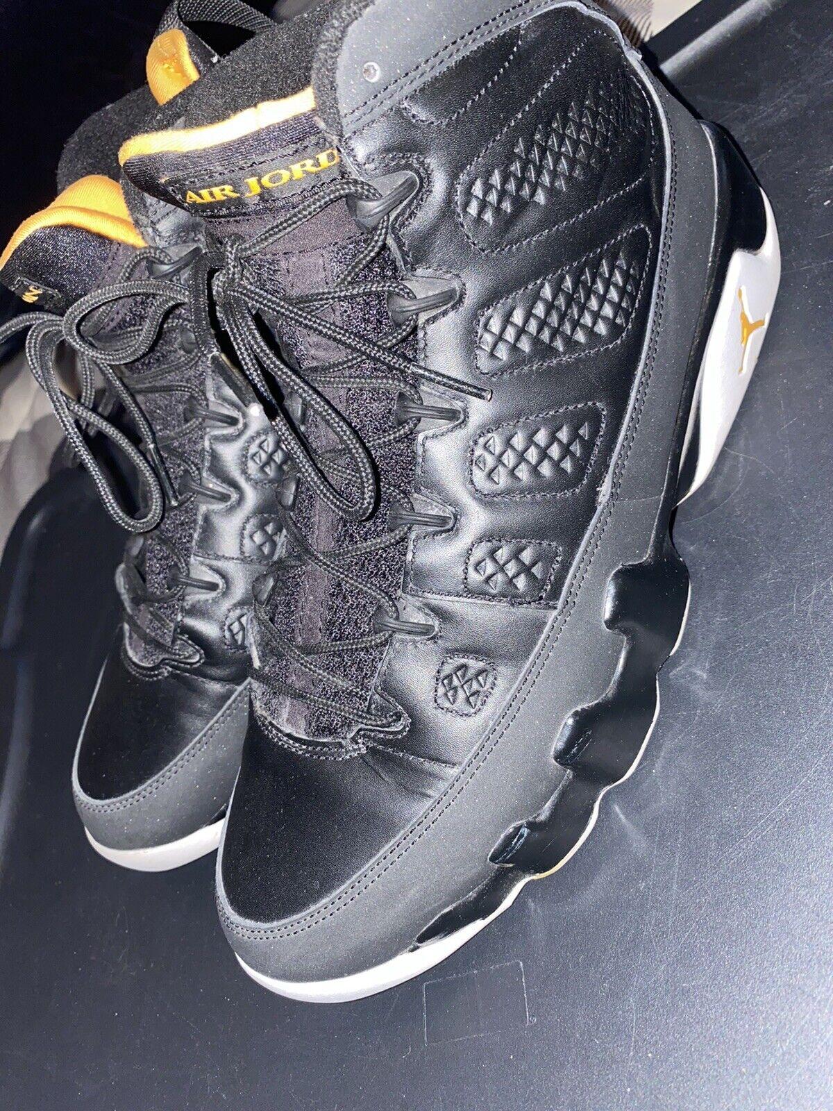 Men's Nike Air Jordan Retro 9 citrus size 9 Vinta… - image 9