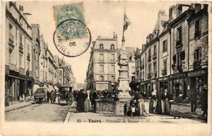 CPA-Tours-Fontaine-de-Baune-611809