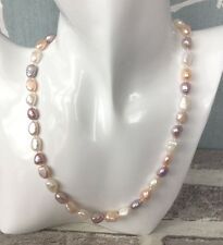 Multi Colour Freshwater Pearl Necklace