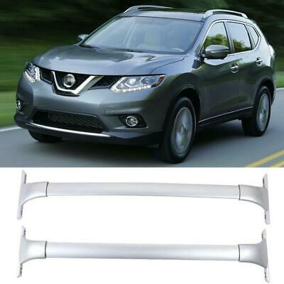 Roof Rack Cross Bar Cargo Carrier for 2014 2015 2016 2017 2018 Nissan Rogue with Factory Raised Side Rail