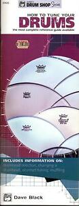 HOW-TO-TUNE-YOUR-DRUMS-Alfred-Handy-Guide-Pocket-Size-NEW-BOOK