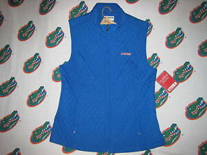 femmes Gilet Mignon pour M Florida matelassé Bleu Gator aq1E7q