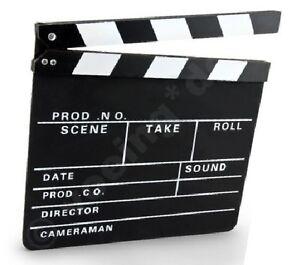 Clapperboard-Filmklappe-Regieklappe-30-x-26-cm-Film-Slate-Regie-Klappe-Klappe