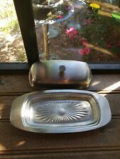 Zodiac Stainless Steel Butter Dish With Lid Sunnex 11828