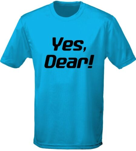 S-3XL by swagwear Yes Dear Humour Wife Mens T-Shirt 10 Colours