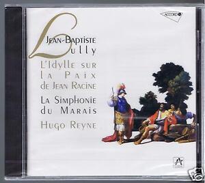 JB-LULLY-CD-NEW-L-039-IDYLLE-SUR-LA-PAIX-HUGO-REYNE-LA-SYMPHONIE-DU-MARAIS