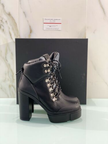 Tronchetto Vic Matie Donna In Pelle Nera 7888 Luxury Woman Boot 38