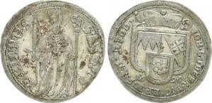 Würzburg, Diócesis 1 Chelines 1696 (3) VF XF (45141)