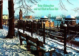 Hamburg , St. Pauli Landungsbrücken , Ansichtskarte ;1981 gelaufen - Schwerin, Deutschland - Hamburg , St. Pauli Landungsbrücken , Ansichtskarte ;1981 gelaufen - Schwerin, Deutschland