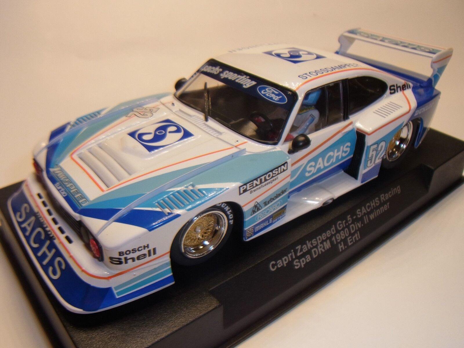 Sideways By Racer Ford Capri H.Ertl Gr.5 Spa  52 1980 SW36 Pista per Auto 1 3 2