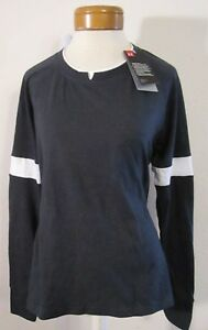 Womens L s Nwt Crew 45 Sportstyle L Shirt Black Armour 191168542393 Under Ua Msrp rrw0xzqE
