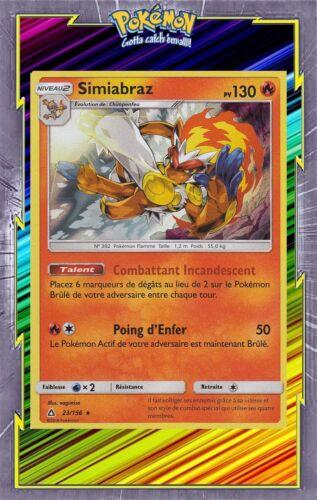 23//156 SL05:Ultra Prisme Simiabraz Holo Carte Pokemon Neuve Française