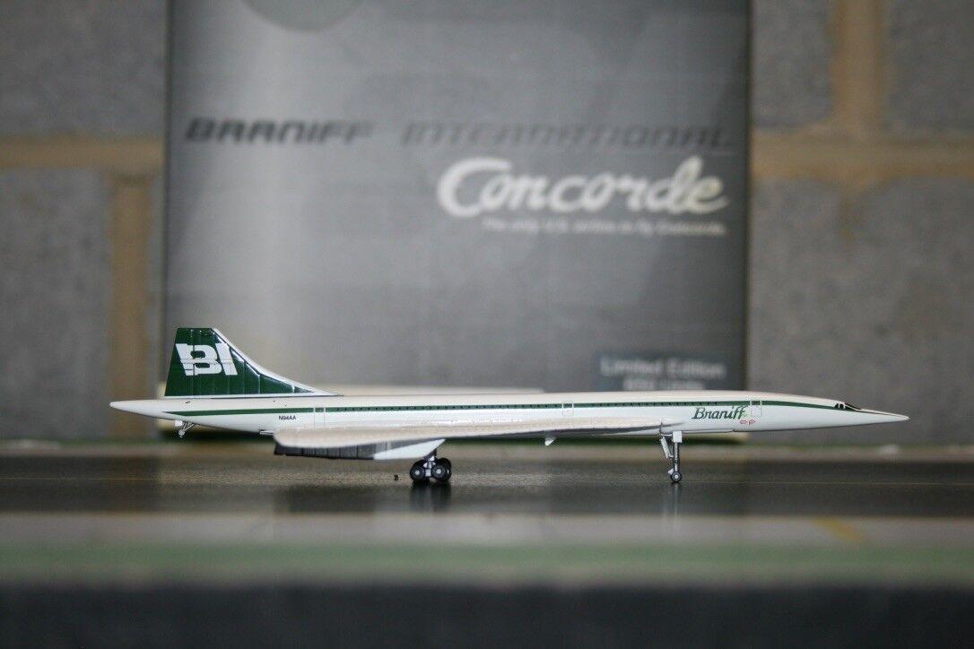 Jet-x 1 400 braniff international concorde n94aa (jx094) sterben mit modellflugzeug