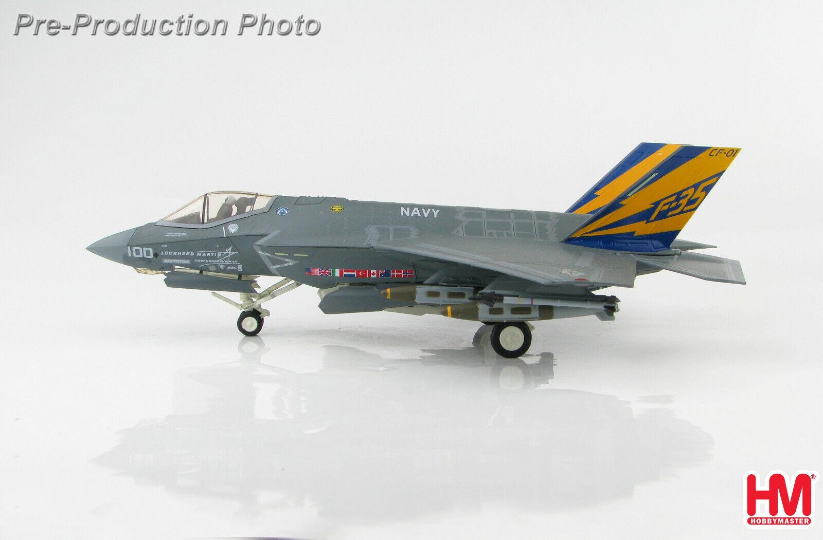 Hobby Master HA6202 1 72 F-35C lumièrening II CF-01 US  Navy  jusqu'à 65% de réduction
