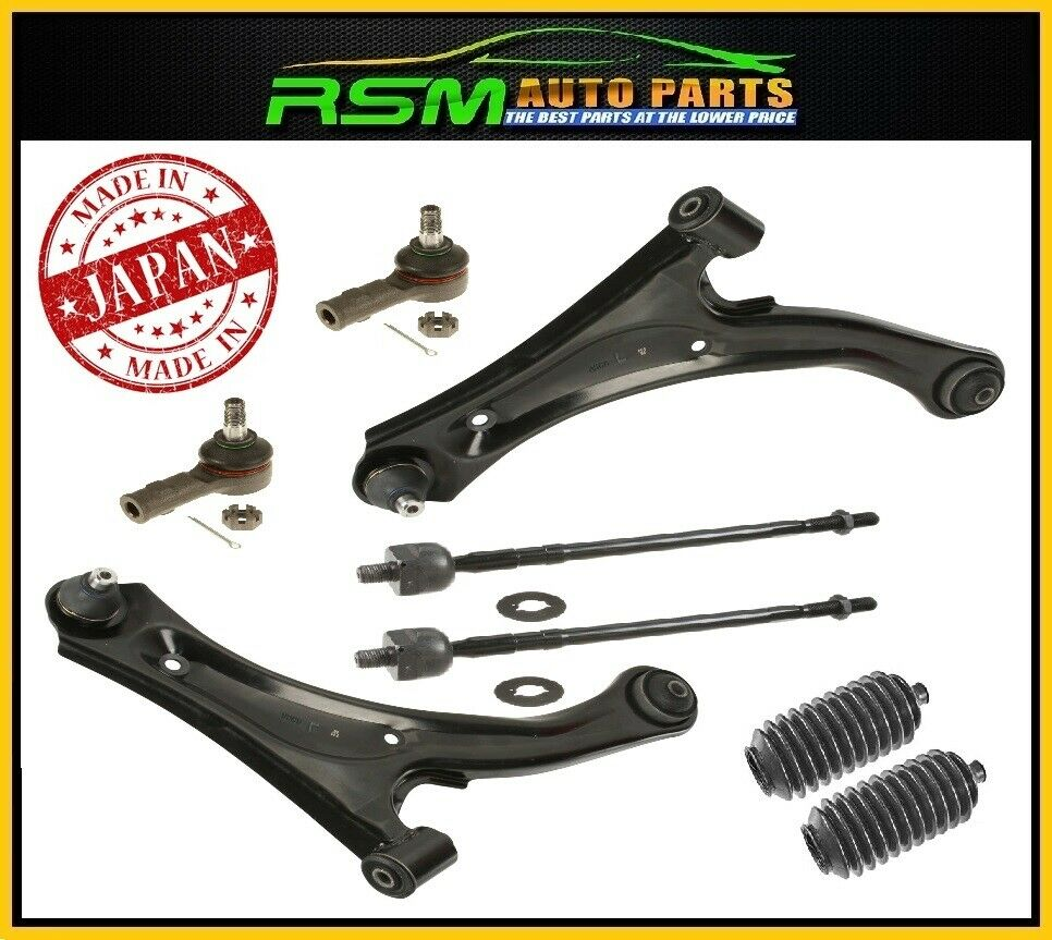 New Aerio 04-07 Control Arm Ball Joint Tie Rods Inner Outer Kit 6pcs