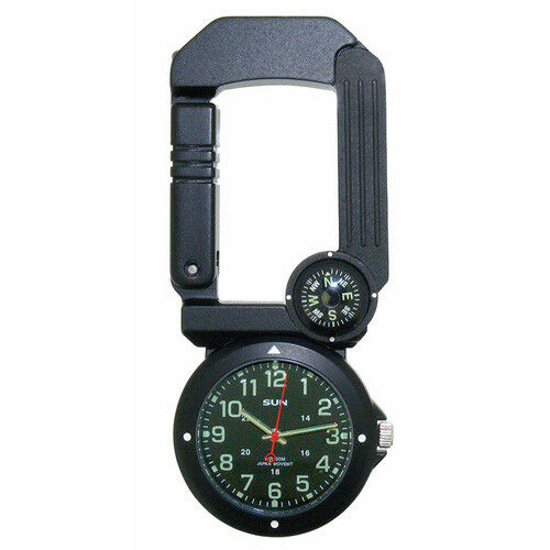 Traverse Tool –  Six Function Timepiece, Carabiner, Compass, Thermometer, & More  wholesale store