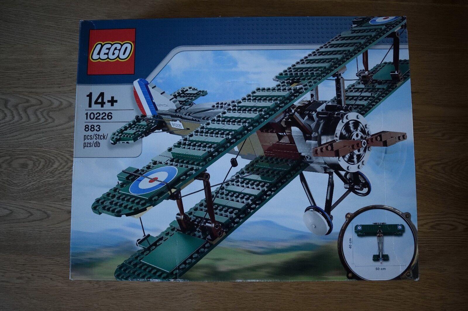 Lego Sopwith Camel   Exclusive   Set 10226 - 100% Complete Aeroplane