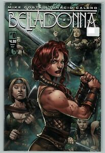 e5133abca0c Bella Donna 0 1 2 1st print Boundless Comics Mike Costa Lopez cool ...