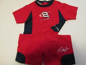 7d204ad4a Dale Earnhardt Jr Pajamas Size 24 MONTH Nascar CHASE AUTHENTICS DALE ...