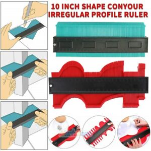 10inch Shape Contour Duplicator Profile Gauge Tiling Laminate Tiles Edge Shaping
