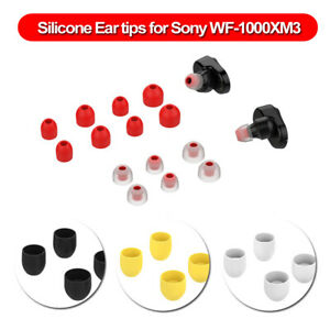 Earphone-Cover-Case-For-Sony-WF-1000XM3-Earbuds-T200-Eartips-Silicone-Ear-Tips