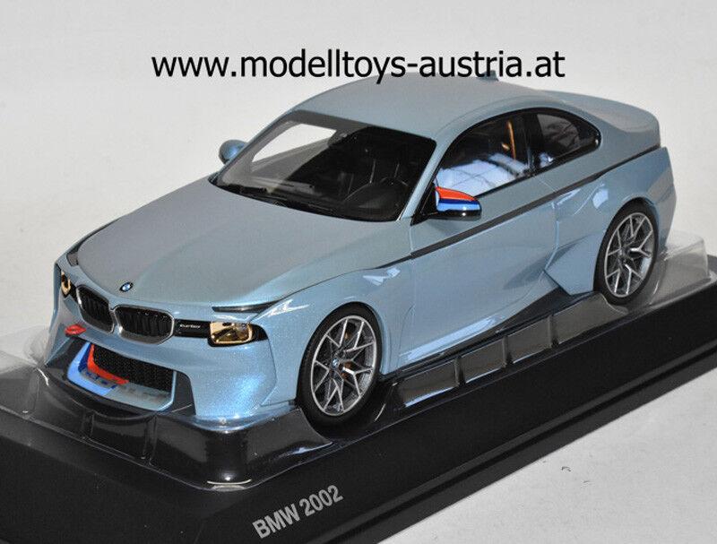 BMW 2002 Turbo HOMMAGE 2017 Eis bleu metallik 1 18 Norev