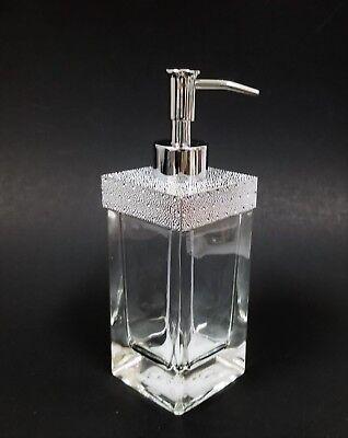 Kristalle Dickes Transparentes Glas Badezimmer Entlastung Von Hitze Und Sonnenstich Badzubehör-sets Neu Diamantschliff Silber