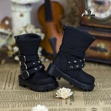 1/3 BJD MID Shoes Dollfie EID DOD LUTS AOD DIM DZ studded Shoes SD13 Punk Boots
