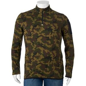 FILA SPORT Mens BIG & TALL Fleece Pullover CAMO (Size 3XB 2XB 2XLT ...