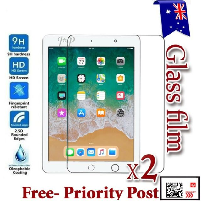 2X PCS Real 9H Tempered GLASS Screen Protector For Apple iPad Pro 9.7 2 Pack