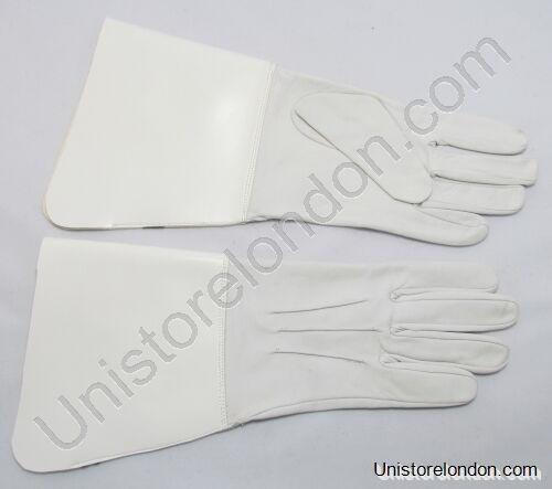 - Guantes cuero tambor major's glover blanco r479