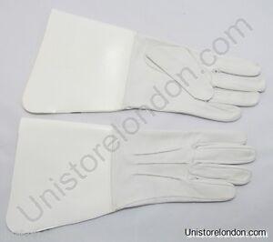 Kleidung & Accessoires Gloves Leather Drum Major's Glover White R479 ZuverläSsige Leistung Handschuhe & Fäustlinge