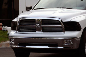 Ram Rt For Sale >> 09-13 Dodge Ram 1500 Truck GTS Acrylic Smoke Headlight Covers Protection Pair | eBay